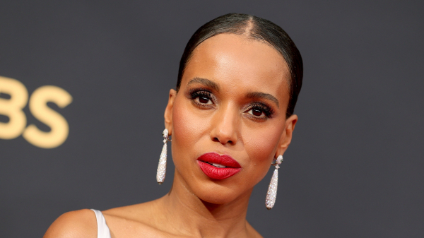 Kerry Washington's Braided Bangs Are Everything We Needed to See Today